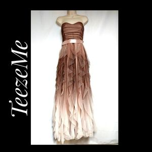 Teeze Me Prom Special Occasion Dress Mocha Ombre